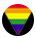 LGBTQ Friendly Rainbow Icon